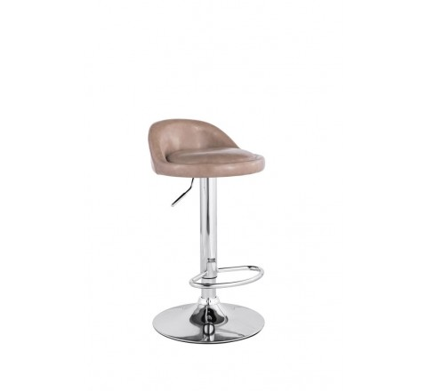 Sgabello bar madison beige girevole