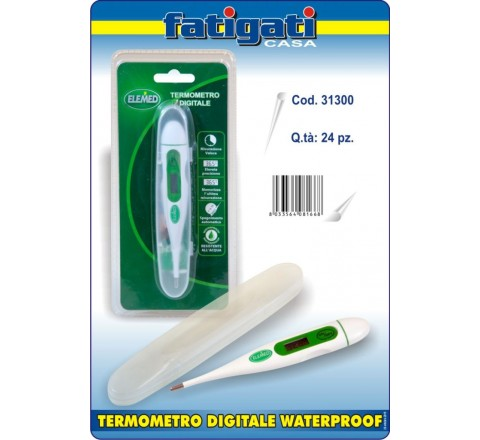 Termometro digitale waterproof elemed 81668