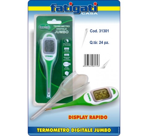 Termometro digitale jumbo elemed 81743