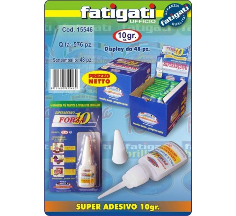 Colla super forza 10 10gr 15546 fatig