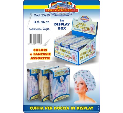 Cuffia per doccia in display 23289 fatig