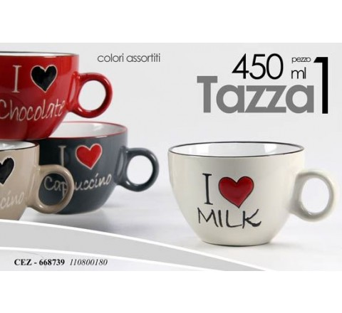 Tazzone latte i love milk 668739 450 ml gic