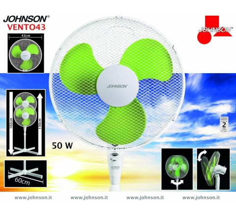 Ventilatore piantana 43 vento johnson