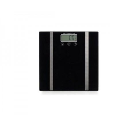 Pesapersone digitale body fat nera 180kg div.100gr bilancia pesapersone eva collection