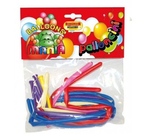 Palloncini modellabili 12 pezzi assort.linea party