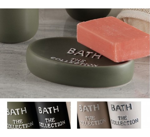Portasapone da appoggio in ceramica bath the collection 4 Colori