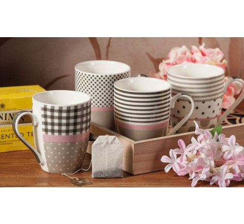 Partycolare Tazza Mug in Ceramica New Bone - Decorazioni assortite
