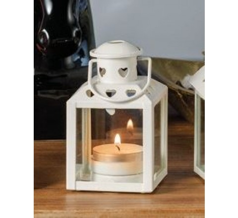 Lanterna portacandel porta tea - light amy fer 10 cm