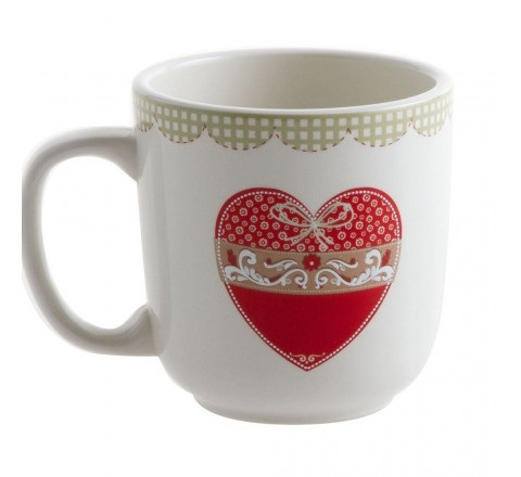 Country love tazzone latte mug 513395 tognana