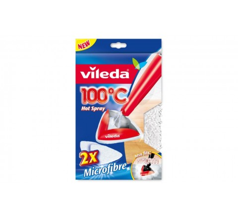 Vileda panno 100 gradi hot spray 146576 2 ricambi
